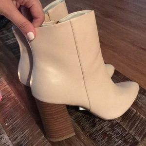New Look Nude Ankle Boots/Booties